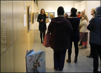 Exposition 28° West à la Médiathèque / © Carine Charlier © www.clic-et-plume.com