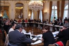 Présentation du nouveau Conseil Municipal - Avril 2014 / © Carine Charlier © www.clic-et-plume.com