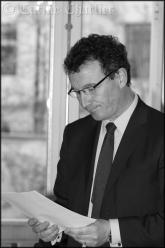 Portrait du Maire, Mr Leroy. / © Carine Charlier © www.clic-et-plume.com