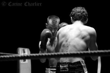 Combat de boxe © Carine Charlier