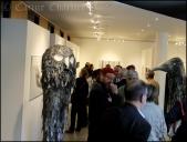 Exposition Faure- Aubrac à la médiathèque / © Carine Charlier © www.clic-et-plume.com