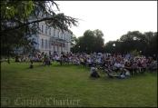Musiques d'été - Jardins de l'Hotel de Ville / © Carine Charlier © www.clic-et-plume.com
